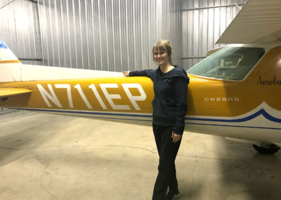 All ages welcome! Learn to fly at Jeanne's Flying Service, Independence, Oregon Flight School - FlyJeanne.com